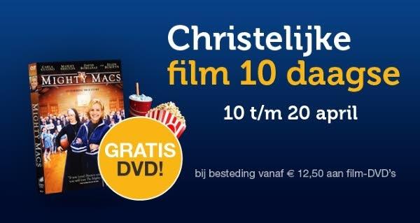 De eerste christelijkefilmtiendaagse is 10 april begonnen
